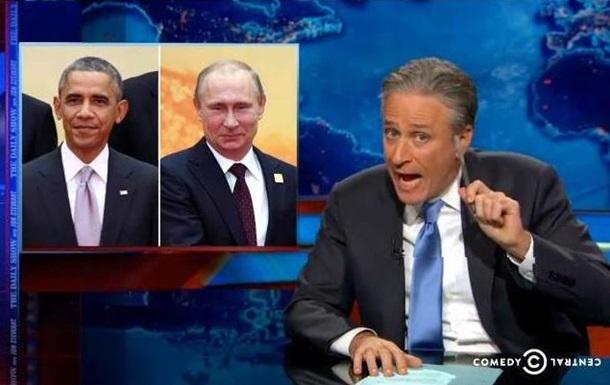 Американское шоу высмеяло встречу Путина и Обамы на саммите АТЭС