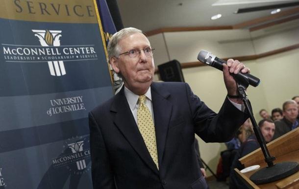 Республиканец Макконнелл стал лидером большинства в Сенате США