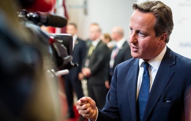Судьба санкций зависит от действий России в Украине - Кэмерон