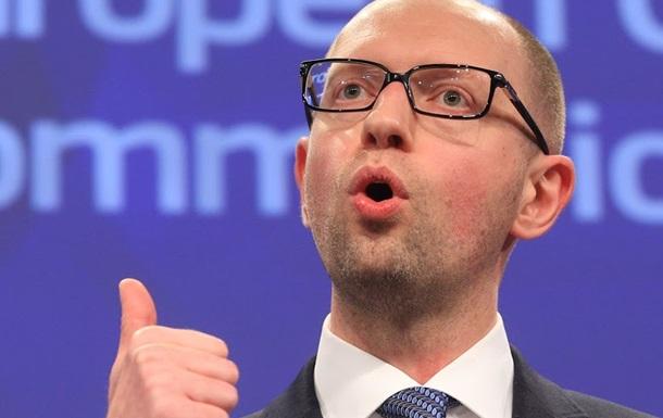Яценюк хочет взять в правительство  европейского лидера