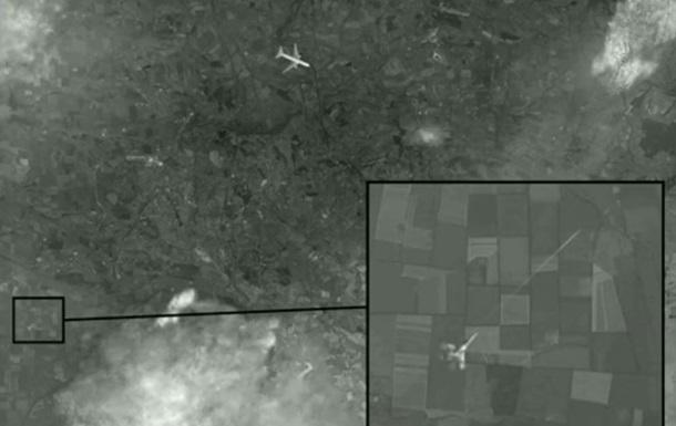 Первый канал показал фото якобы обстрела Боинга истребителем