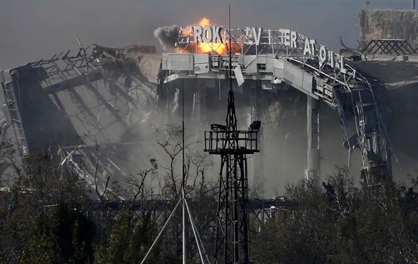 В течение всего дня в Донецке обстреливали аэропорт