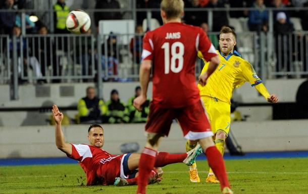 Украина громит Люксембург: видеообзор матча