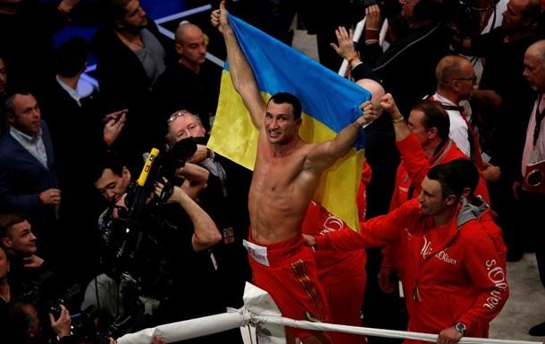 Порошенко поздравил Кличко с победой