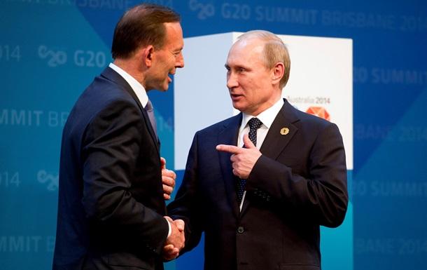 Путин обсудил санкции с лидерами G20