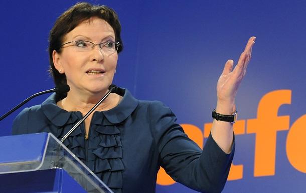 Премьер-министр Польши признала поражение своей партии на выборах