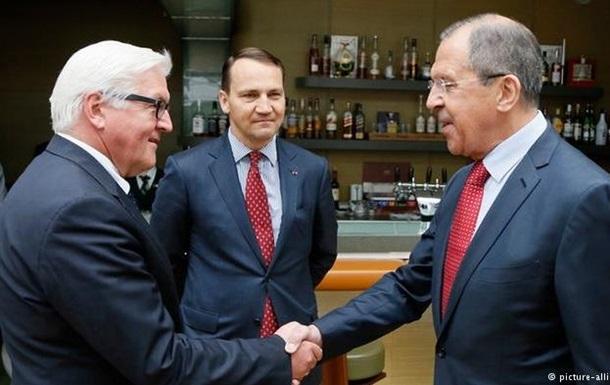 Берлин и Москва обсудили Донбасс и бегство Януковича