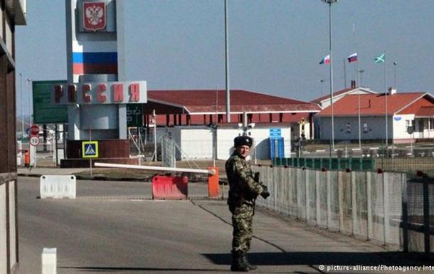 ОБСЕ: Российско-украинскую границу пересекают сотни людей в военной одежде