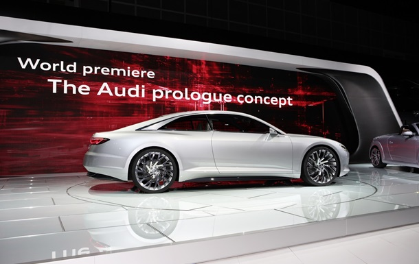Audi представила концептуальное купе Prologue