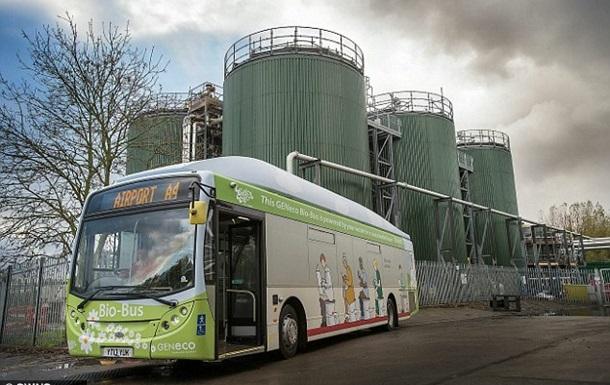 В Британии вышел на маршрут междугородний автобус на фекалиях