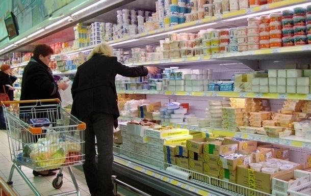 Киевляне стали есть меньше мяса и молока
