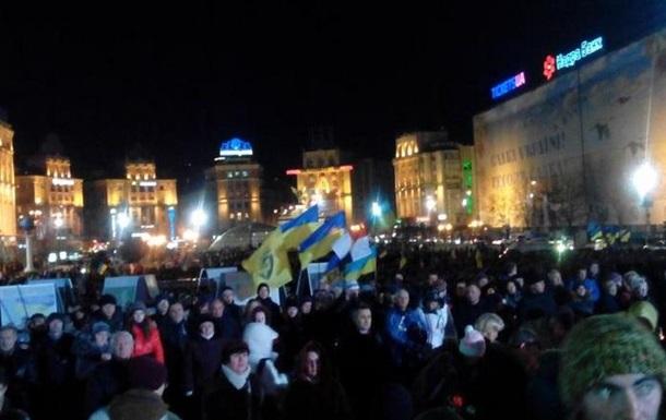В годовщину революции активисты готовы устроить  третий Майдан