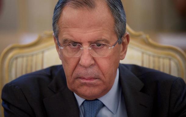 Запад  берет на понт  Россию - Лавров