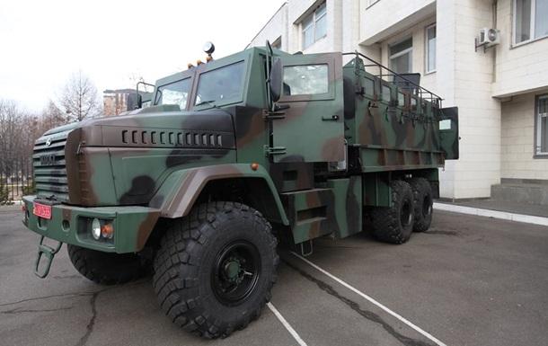 На вооружение Нацгвардии поступили бронеавтомобили Raptor