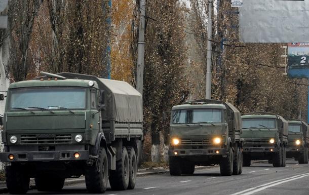 Россия открестилась от колонны машин с пушками в Донбассе