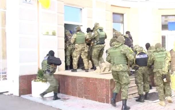 захват Одесского НПЗ