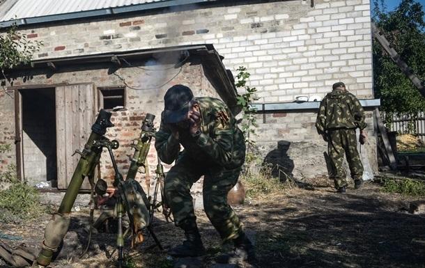 Сводка дня АТО: артобстрелы возле Донецка и огонь со стороны России