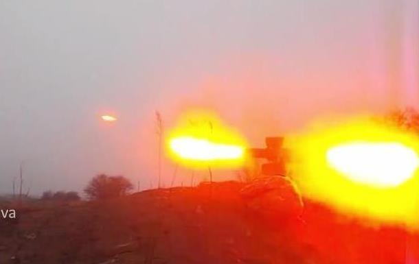 Сепаратисты сняли на видео неудачный выстрел из ПТУР