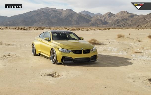 Опубликована официальная фотосессия тюнинговой версии BMW M4