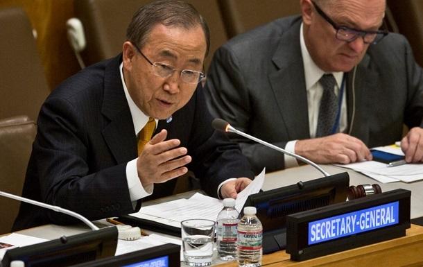 Пан Ги Мун: Самолеты США и союзников убили в Сирии 50 мирных жителей