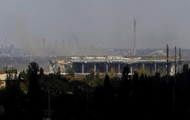 В Донецке слышна стрельба в районе аэропорта
