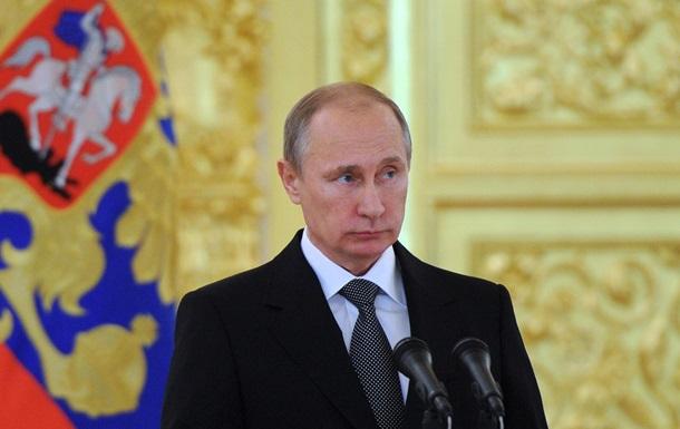 В России начал снижаться рейтинг доверия к Путину