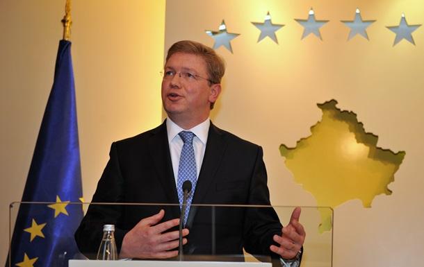 Экс-комиссар ЕС: Часть вины за кризис в Украине лежит на Германии