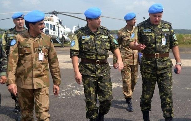 В Конго арестовали украинских миротворцев из-за формы