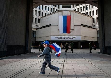 Крым, первый год в составе РФ