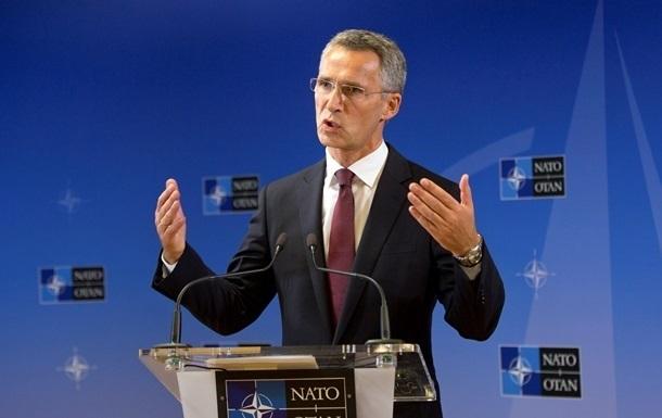 Россия силой изменяет национальные границы - Генсек НАТО