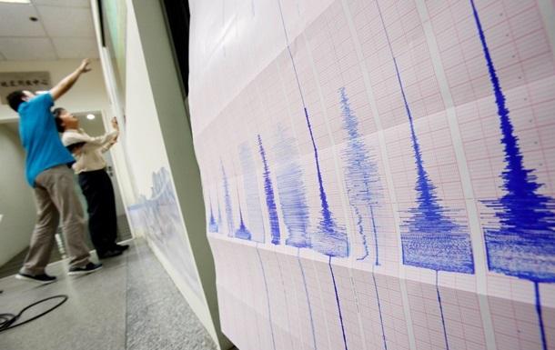 У побережья японского острова Хонсю произошло землетрясение