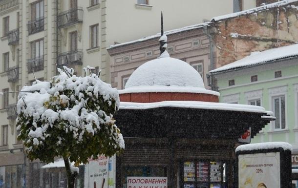 В первые дни декабря в Украине ожидается до -18 градусов