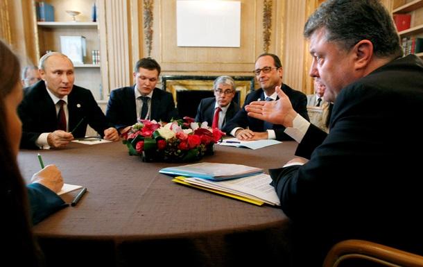 Порошенко: Информация об угрозах Путина - чушь