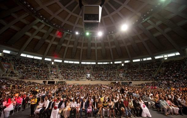 В Рио состоялась самая массовая свадьба в истории города