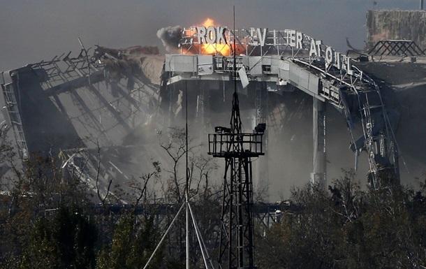 Силовики отбили атаки на аэропорт Донецка, утром бои возобновились