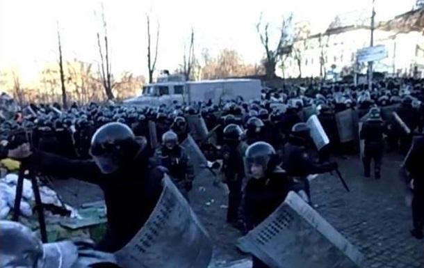 Обнародованы кадры, снятые бойцом Внутренних войск во время Евромайдана