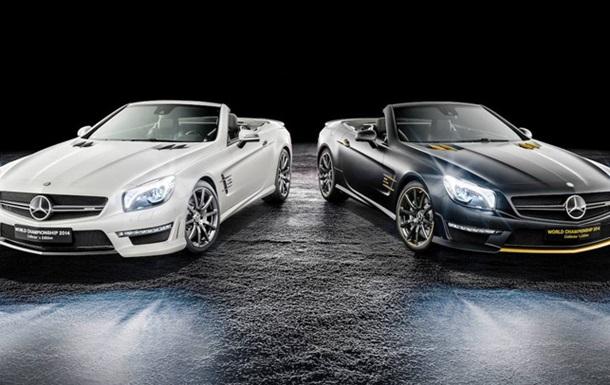 Mercedes-Benz выпустил две спецсерии SL63 AMG