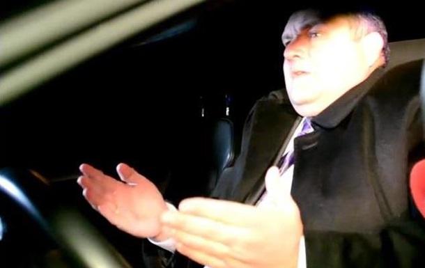 Кто-то посадил меня за руль. В Днепропетровске задержали пьяного прокурора