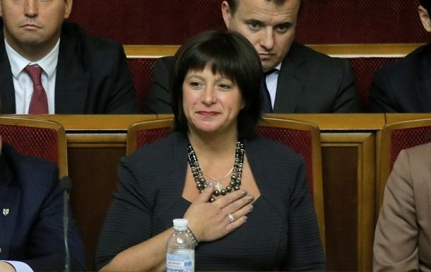 Министр Яресько обещает представить Госбюджет-2015 до конца года