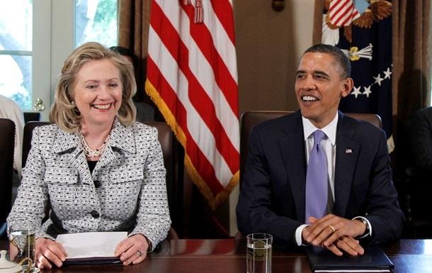 Обама встретился с Хиллари Клинтон