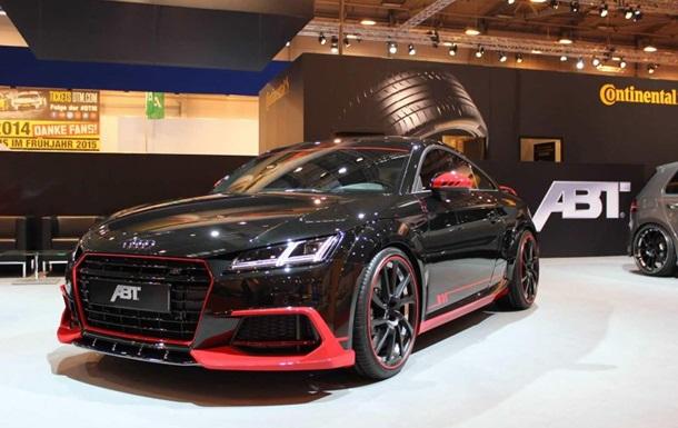 Тюнинг-шоу в  Эссене: Audi TT подчеркнули спортивный характер