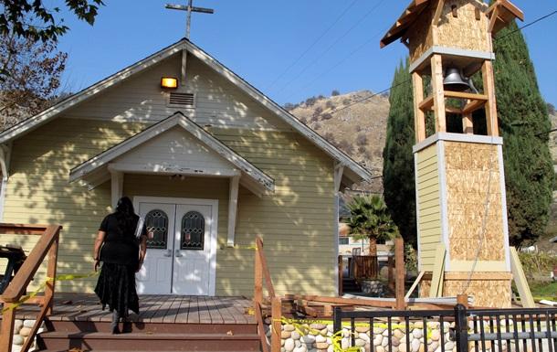 В США мужчина застрелил человека в церкви