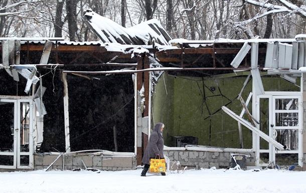 В Донецке из-за обстрелов погиб мирный житель, еще один ранен