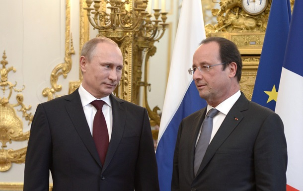 Путин: Визит Олланда в Москву пойдет на пользу решению кризиса в Украине