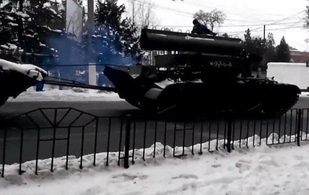 В Донецке произошло ДТП с участием военной техники сепаратистов