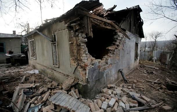 В зоне АТО обстреляли ряд городов возле Донецка