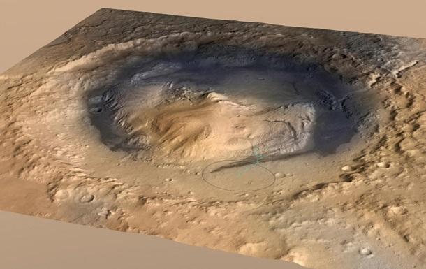 Озеро на Марсе: ученые нашли новые доказательства