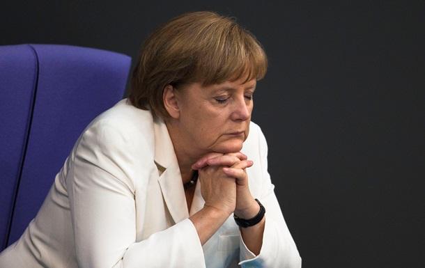 Ангеле Меркель неожиданно стало плохо во время интервью