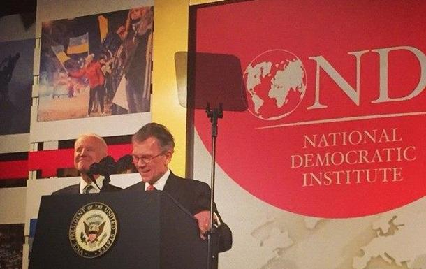 Три украинца получили премию Национального демократического института