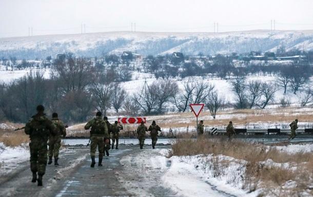 Тишина  под Донецком и на Луганщине. Карта АТО за 10 декабря